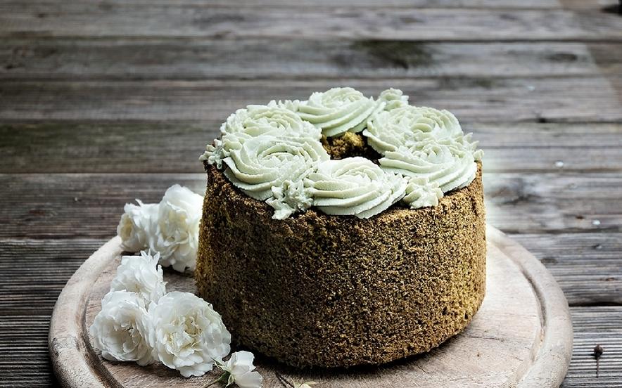 Chiffon Cake al tè Matcha