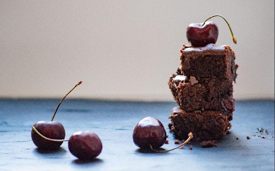 Brownies alle ciliegie