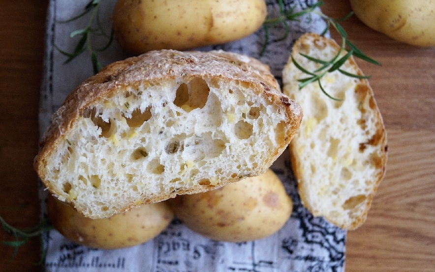 Pane alle patate e rosmarino (gluten free)
