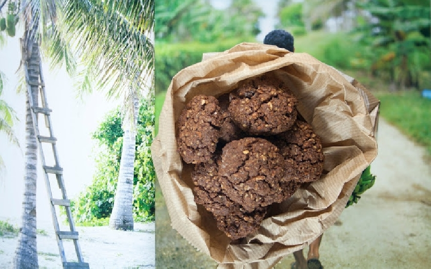 Biscotti mandorle e cacao