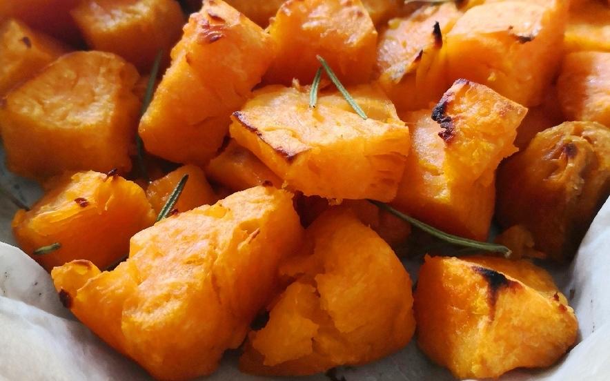 Patate dolci al forno veloci
