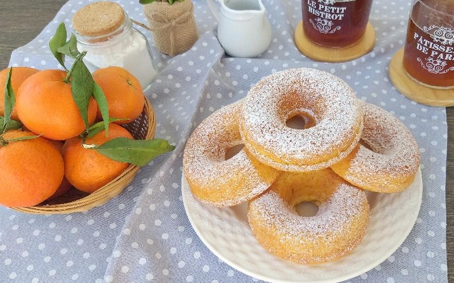 Ciambelle al mandarino e yogurt