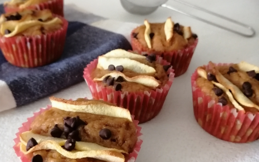 Muffin vegani alla mela