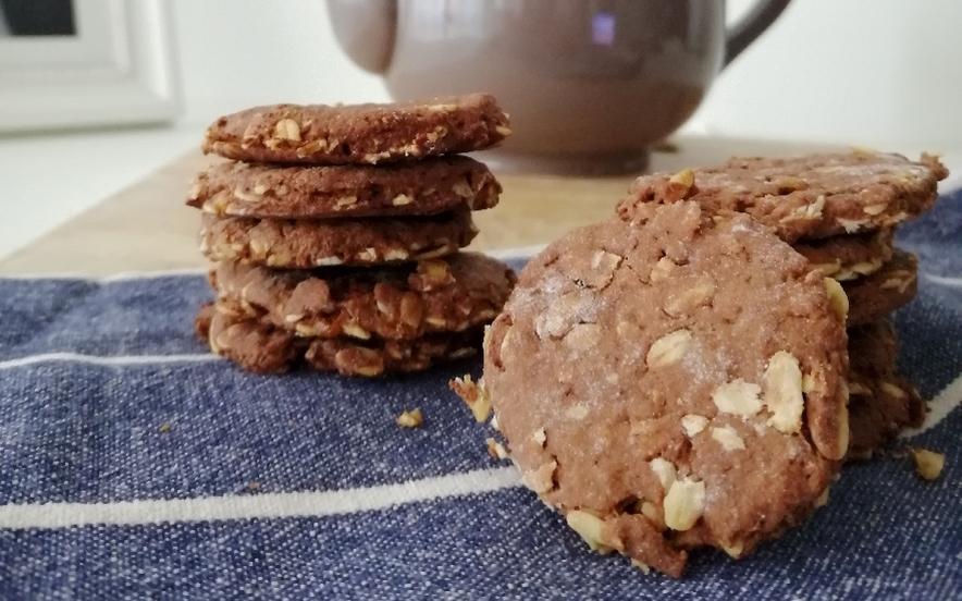 Biscotti grancereale al cacao