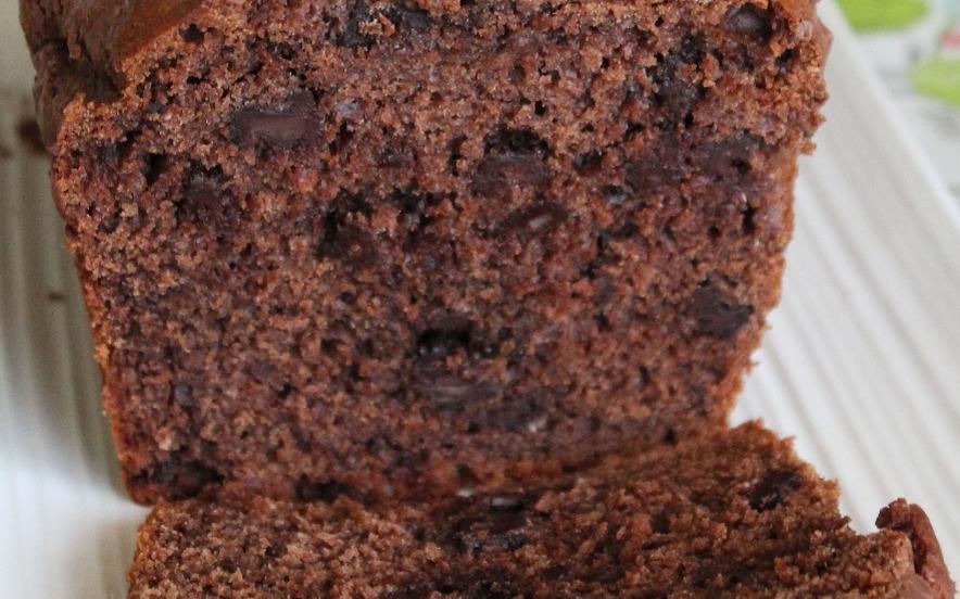 Plumcake delizia al cioccolato senza lattosio