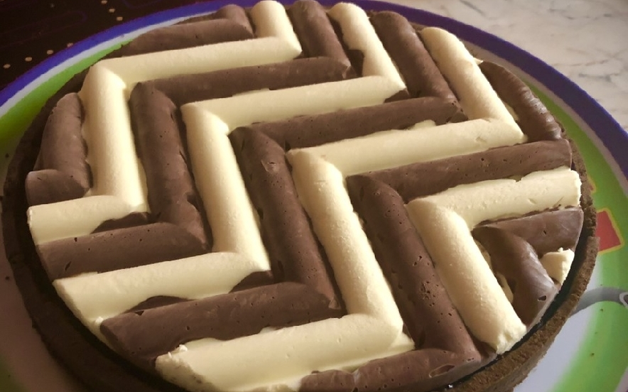 Crostata moderna - Torta della Loggia Nera