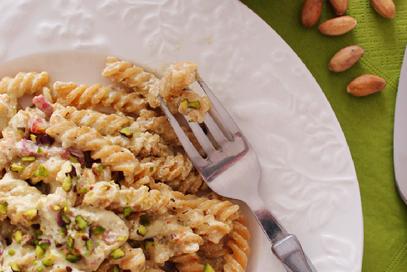 Pasta al pesto di pistacchio