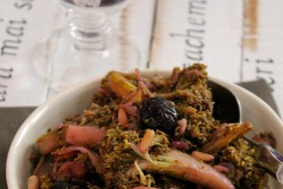 Broccoli in agrodolce alla siciliana