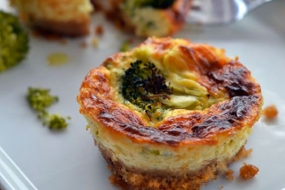 Cheesecake salate con broccoli