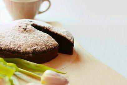 Torta  al cacao facile, veloce e soffice