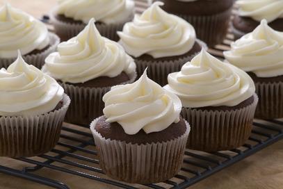 Muffin al cioccolato con crema