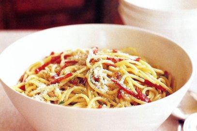 Spaghetti al salame gentile