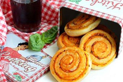 Girelle di pan-mozzarella