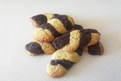 Biscotti due gusti