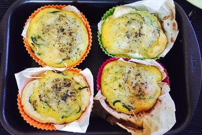 Tortini zucchini e pistacchi
