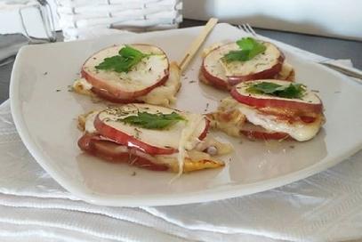Sandwich di mele annurca
