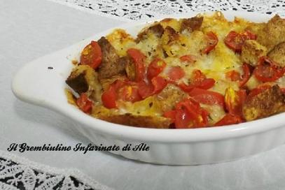 Panzanella calda al forno