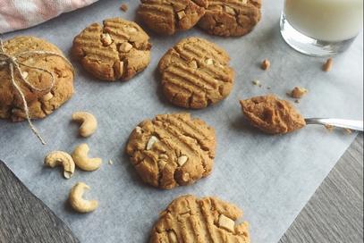 Cookies al burro di arachidi senza lattosio