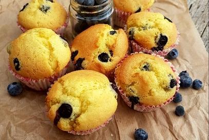 Muffin ai mirtilli morbidissimi