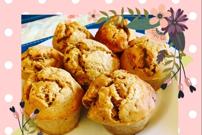 Muffin integrali alla banana e yogurt