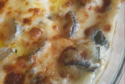 Lasagna con zucchine ai tre formaggi