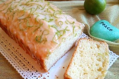 Plumcake al lime