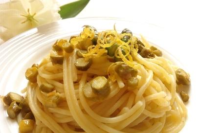 Spaghetti asparagi e limone