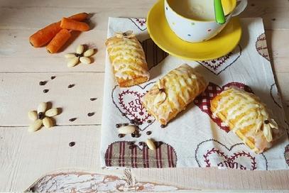 Mini plumcake integrali con carote