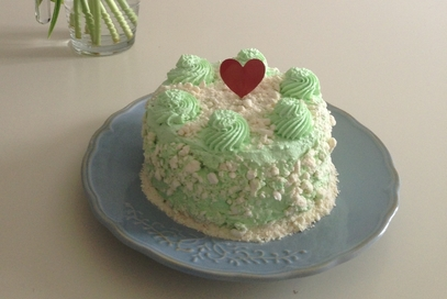 Green lemon cake