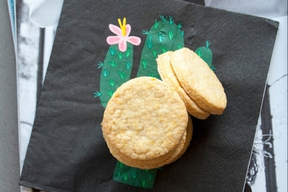 Biscotti di pasta frolla allo zenzero