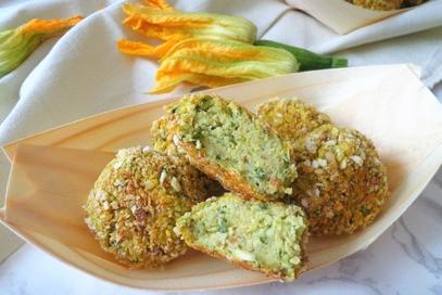 Polpettine di zucchine e ricotta