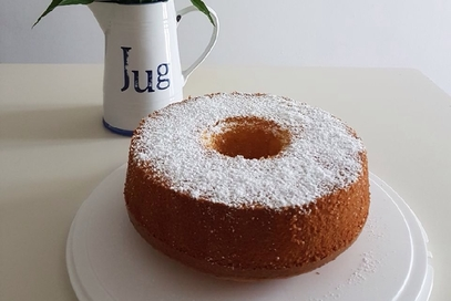 Chiffon cake al limone grande