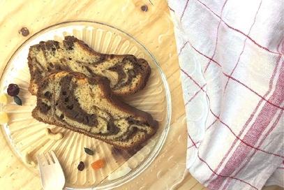 Plumcake light con malto e orzo