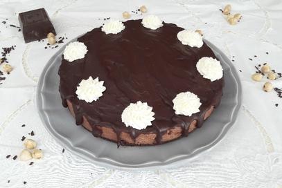Cheecake al cioccolato senza cottura