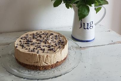 Cheesecake al caffè