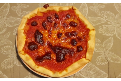 Pizza brisé
