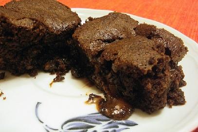 Brownies al ciocolato di caramelo