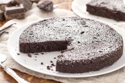 Torta fast al cioccolato