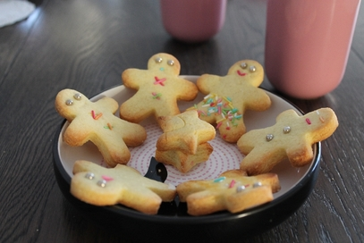 Biscotti di frolla alla vaniglia