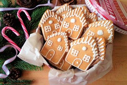 Biscotti al miele e cannella