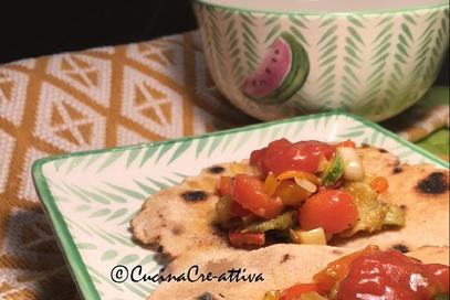 Tortillas di mais vegetariane