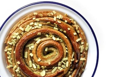 Brioche al chai masala e pistacchio