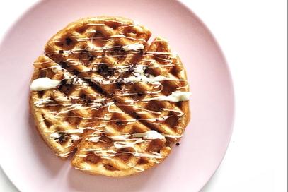 Waffles senza burro