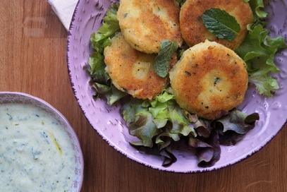 Polpettine di patate al fresco di menta