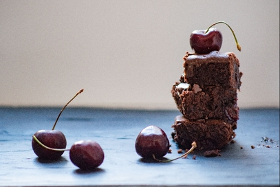 Brownies alle ciliegie