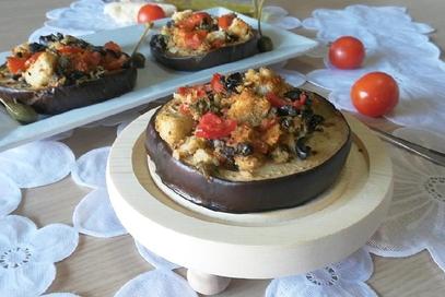 Medaglioni di melanzana alla napoletana