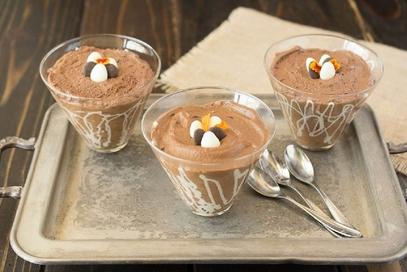 Mousse al cioccolato e caffè