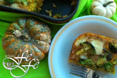Orzo perlato in crema di zucca e broccoli saporiti