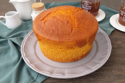 Chiffon cake alla zucca