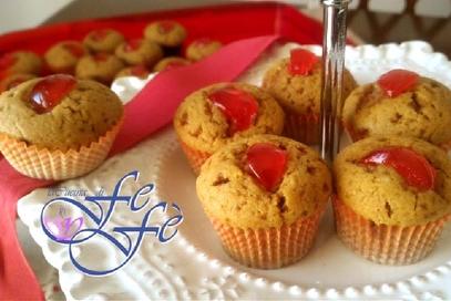 Biscotti della nonna con ciliegie candite